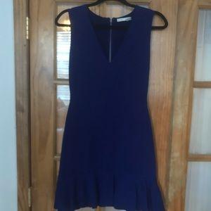 Alice & Olivia Midnight Blue Dress